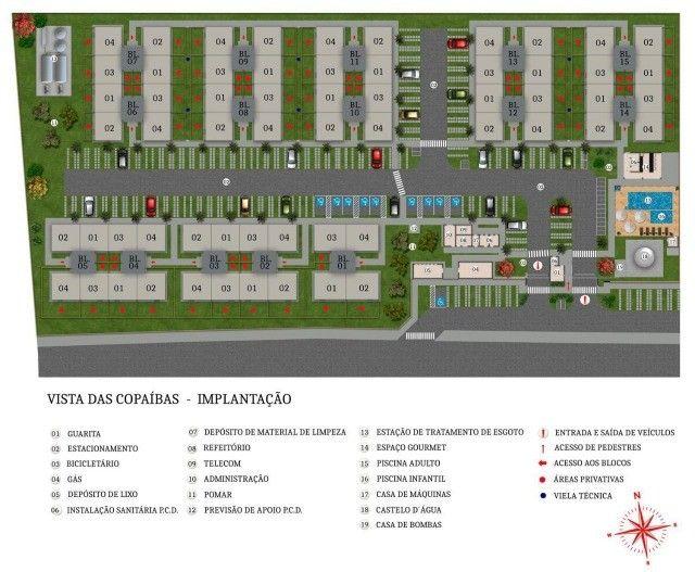 Lançamentos Apartamentos Copaíbas  - Foto 10
