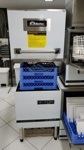Lavadora de louça industrial netter NT-300 (nova) Alecs