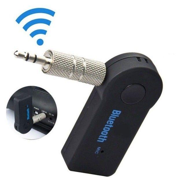 Adaptador Receptor De Áudio P2 Bluetooth Sem Fio Para Carro - Foto 2