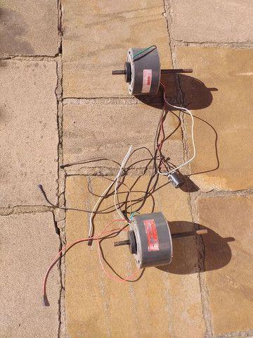 Dois Motores de ventilador de ar condicionado de janela. Mais detalhes na foto. - Foto 2