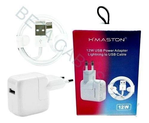 Carregador Fonte + Cabo Lighting iPhone iPad Bivolt 12w Usb - Foto 2