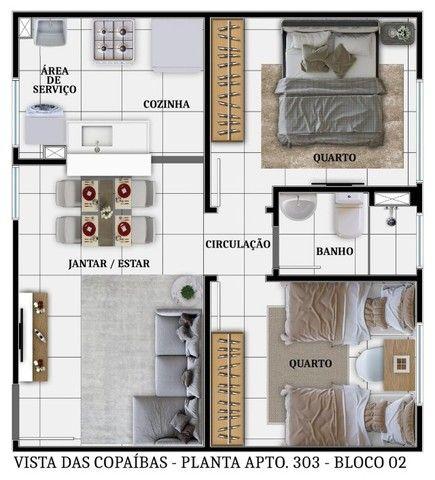 Lançamentos Apartamentos Copaíbas  - Foto 6
