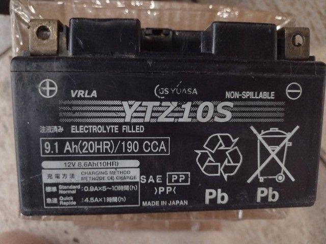 bateria para moto yuasa japonês 12v.  - Foto 3