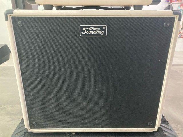 Amplificador valvulado para guitarra soundking semi-novo  - Foto 3