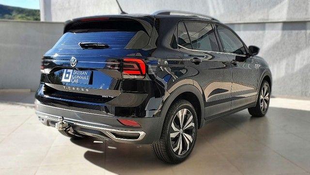 Volkswagen T-Cross Highline 250 TSi 2021 - Único dono - 9.800km - Impecável - Foto 4