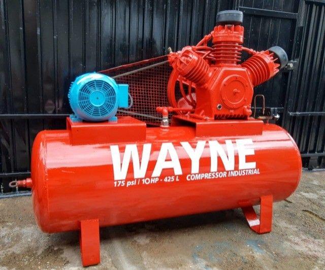 Compressor de ar 40 pés Wayne Industrial - Foto 2