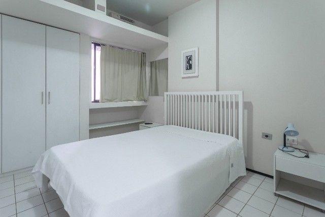 Flat 207 com 1 quarto completíssimo em Boa Viagem - Recife - PE - Foto 8