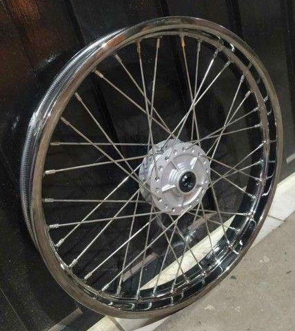 Rodas originais Honda XRE  - Foto 3