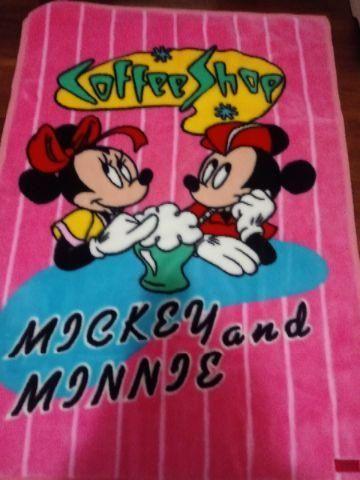 Cobertor mickey e minie