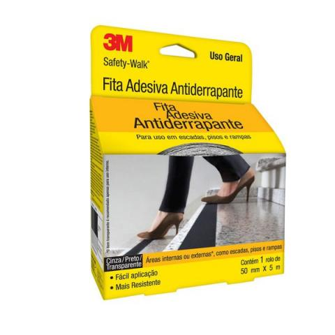 Fita Anti Derrapante 3m Safety Walk 5m X 50mm Lixa