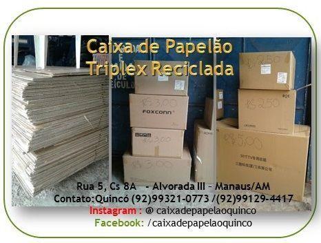 Caixa de Papelão Triplex Recicladaa