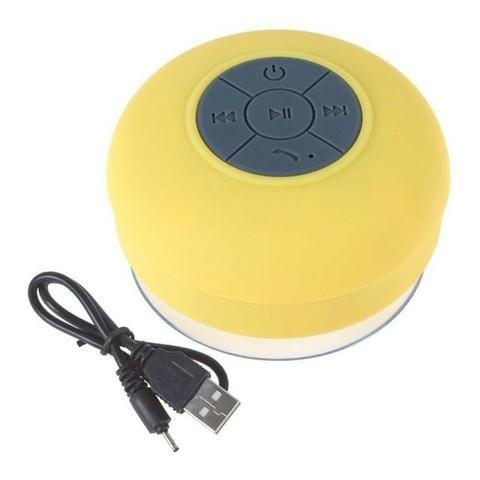 Mini Caixa Som Bluetooth Portátil Prova De Água Ventosa Várias Cores - Foto 5