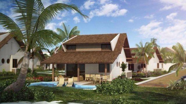 Casa bangalo, em Muro alto com 150m² luxo e qualidade de vida para você e sua família