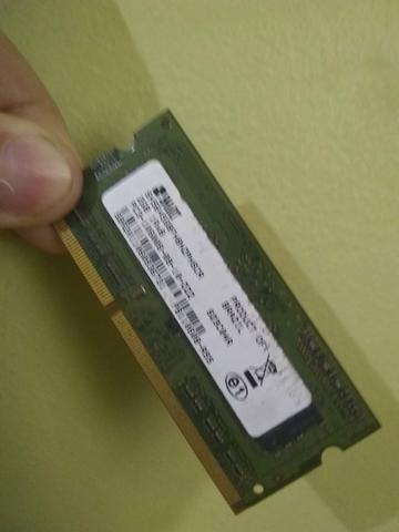 Memória de nout book 2 GB
