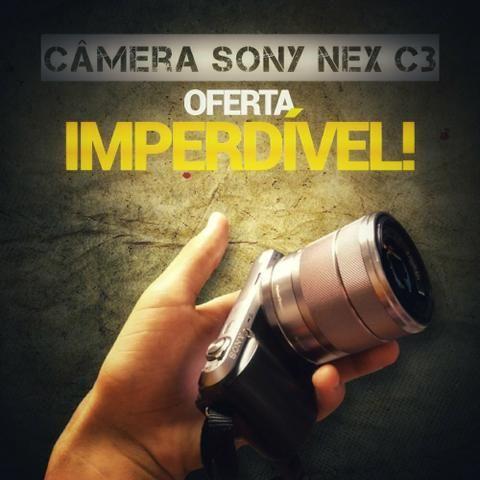 Câmera Sony NEX C3