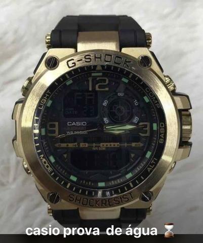 d759a472ef6 Relógio Esporte G-Shock a prova d água com varias funções ...