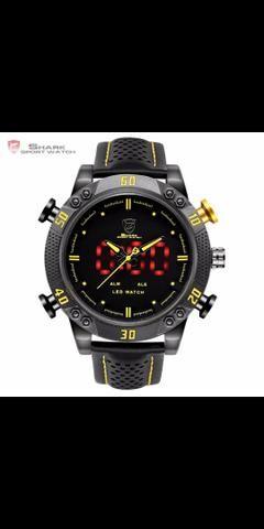 814e46aca83 Relógio Shark Original - Bijouterias