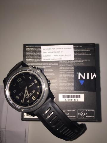 54cce331d02 Relógio Garmin Fenix 3 Safira Bandle Prata Ref.010-01338-61 ...