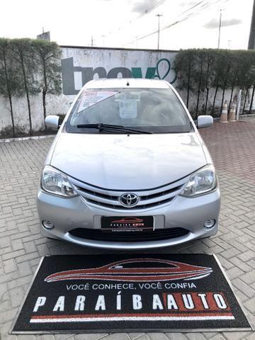 Toyota Etios 1.3 X - 2013 Completo - Paraíba Auto - Foto 2
