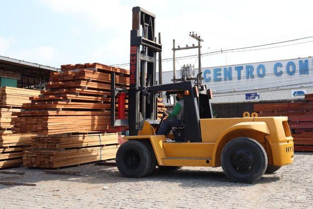 Empilhadeira hyster 10 toneladas - Foto 2