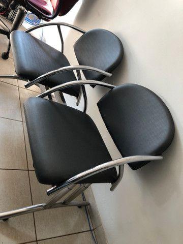 Cadeira escritório longarina - Foto 3
