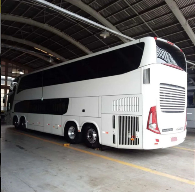 Ônibus Leito Cama Marcop Paradiso 1800 Dd G7 - Foto 2