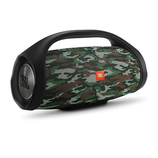 Caixa de som JBL Boombox - Camuflado<br><br>