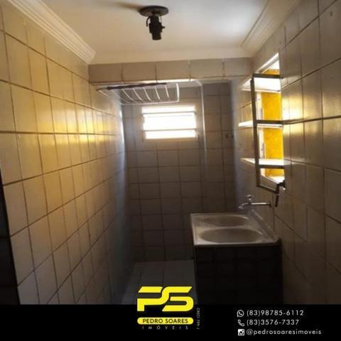 Apartamento com 2 dormitórios à venda, 50 m² por R$ 110.000 - Paratibe - João Pessoa/PB - Foto 7