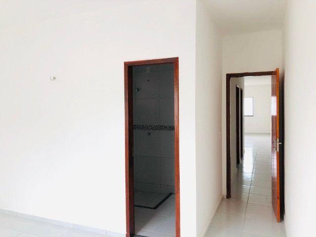 DP casa nova com 2 quartos 2 banheiros a 10 minutos de messejana - Foto 9