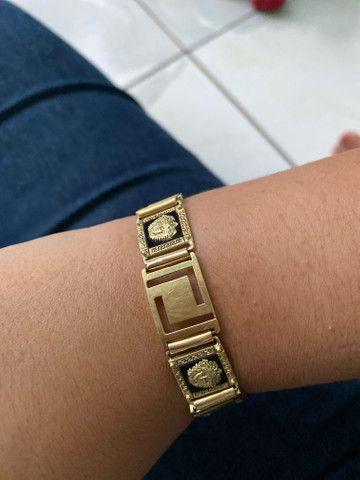 Pulseira de ouro Versace - Foto 3