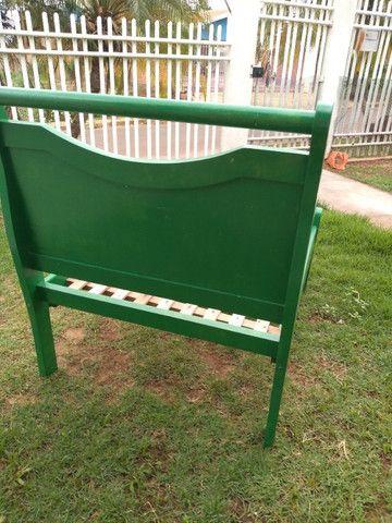 Espreguiçadeira de madeira personalizada - Foto 4