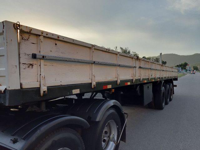 Carreta Reboque Krone S Cot Cabb carga seca com pino de container ANO 1994   - Foto 3