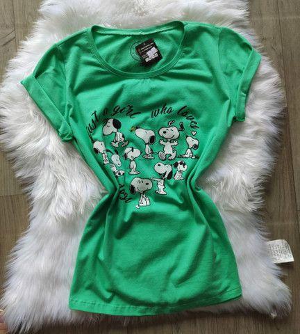 T-shirts/blusa feminina  - Foto 3