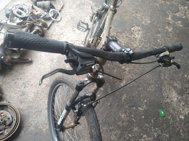 Bicicleta aro26 quadro edição limitada leia anúncio - Foto 3