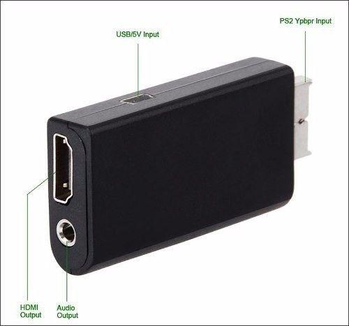 adapitador ps2 para HDMI conversor G300 - Foto 3