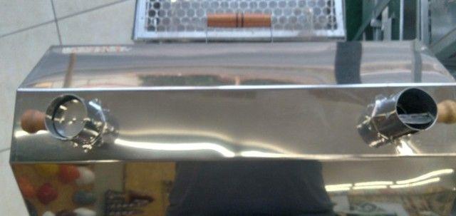 Churrasqueira Portátil aBafo N01  Inox - a Carvão - Foto 2