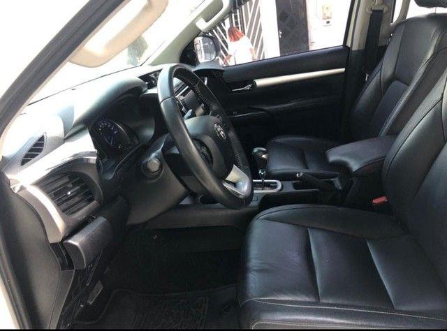 HILUX SRV  4X4 AUTOMÁTICA M2017 DIESEL - Foto 5