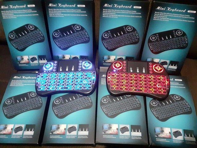 Teclado wifi tv box smart tv - Foto 2