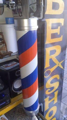 Barberpole. ( poste para barbearias.meu whats *