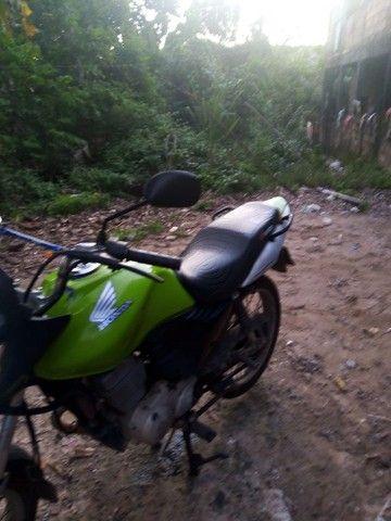 Vendo está moto em dias - Foto 6