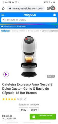 Cafeteria Expresso Arno Nescafé Dolse Gusto - Foto 2