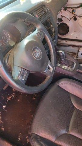 Volkswagen Jetta 2.0 TSI 2012 Batido Com Garantia Para Peças - Foto 11