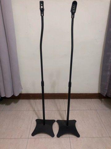 Pedestal universal para caixa de som usado  - Foto 3