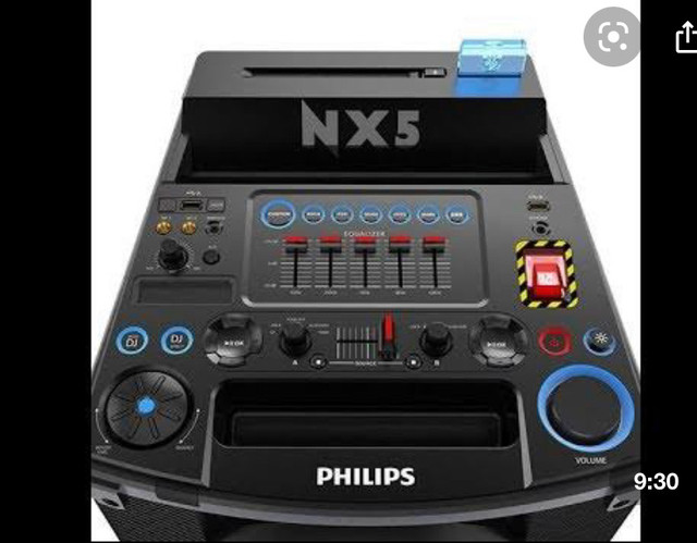 Caixa de som Philips nx5 - Foto 2