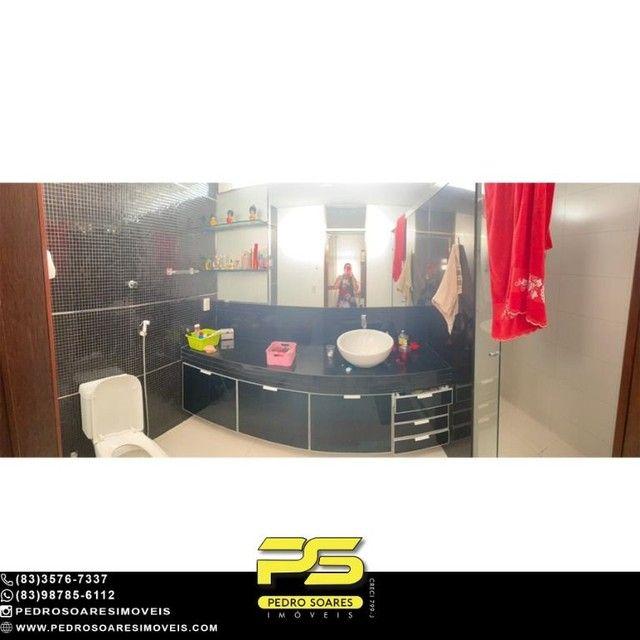 Casa com 5 dormitórios para alugar, 1.120 m² por R$ 16.000/mês - Estados - João Pessoa/PB - Foto 13
