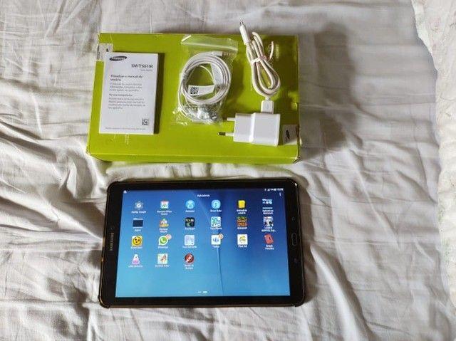 """Tablet Samsung conservado Galaxy Tab E 9,6"""" preto - Foto 2"""