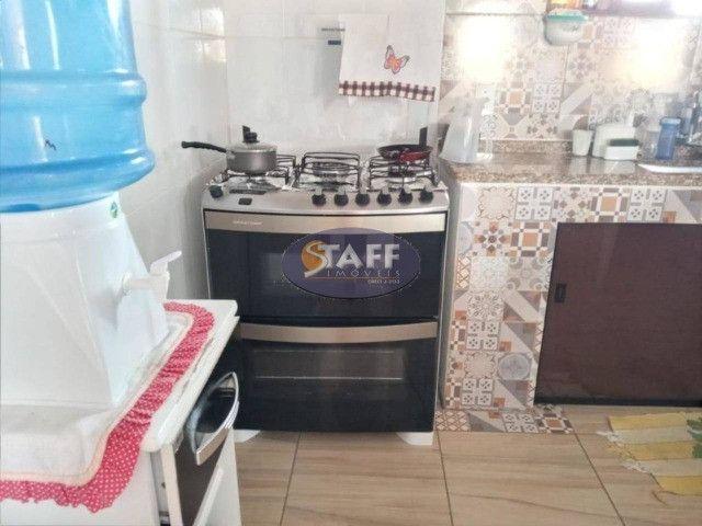 OX2-Casa com 3 quartos, 160 m², à venda por R$ 350.000 Unamar - Cabo Frio/RJ - Foto 9