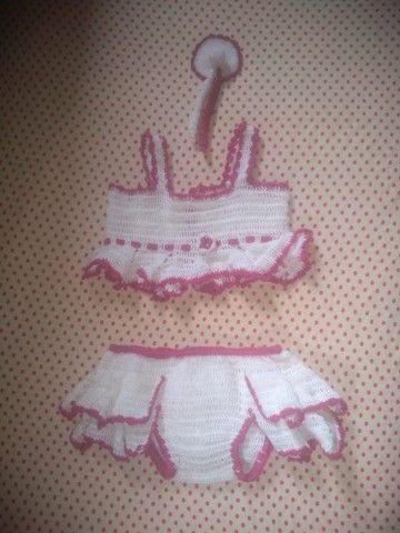 Roupinha de crochê para criança - Foto 2