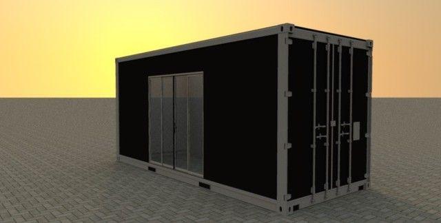 Escritório Container Dry 15 DC - Promocional - Simples