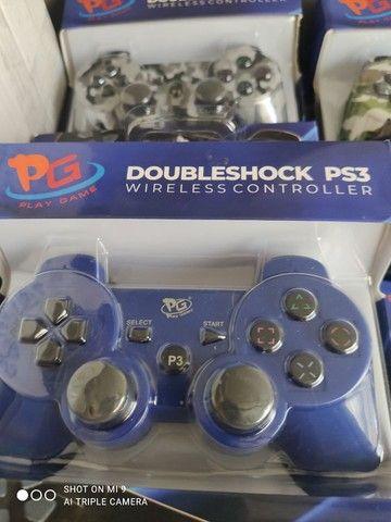 Controle PS3 sem fio  - Foto 4